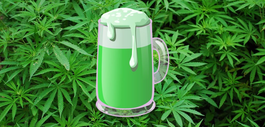 Cannabis-Infused Non-Alcoholic Beverages